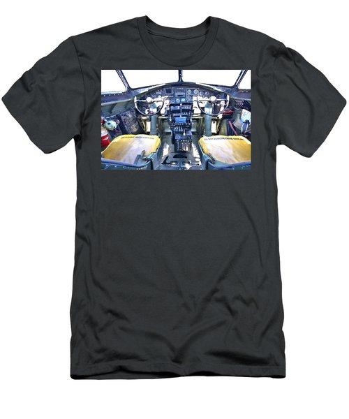 B-17 Front Office Men's T-Shirt (Athletic Fit)