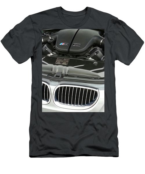 B M W M5 V10 Motor Men's T-Shirt (Athletic Fit)