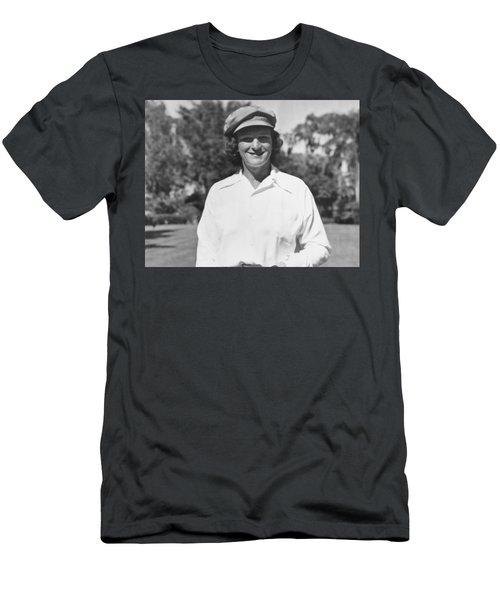 Babe Didrikson Portrait Men's T-Shirt (Athletic Fit)