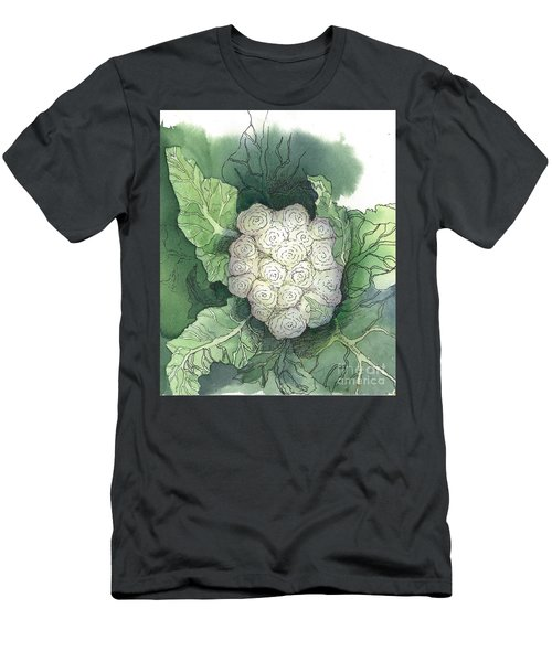 Baby Cauliflower Men's T-Shirt (Slim Fit) by Maria Hunt