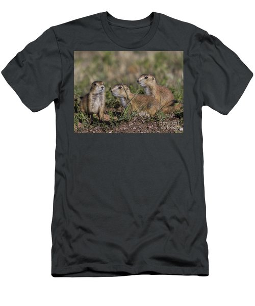 Baby Prairie Dogs Men's T-Shirt (Athletic Fit)