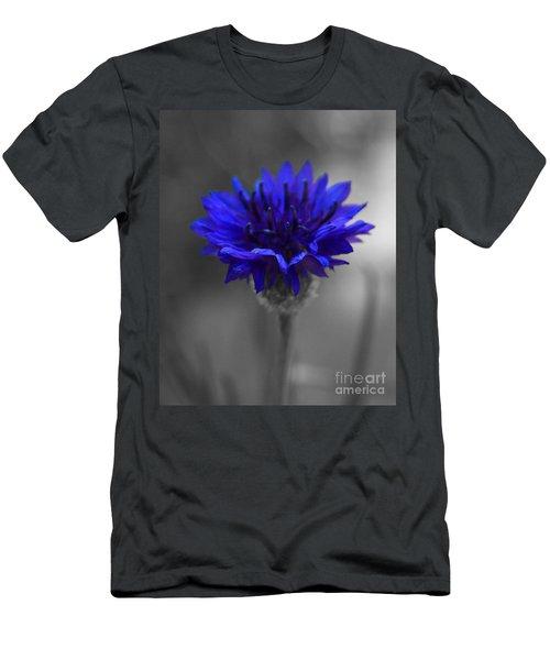 Bachelor's Button Men's T-Shirt (Athletic Fit)