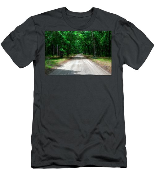 Back Roads Of South Carolina Men's T-Shirt (Athletic Fit)