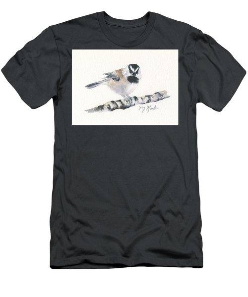 Backyard Busybody - Mountain Chickadee Men's T-Shirt (Athletic Fit)
