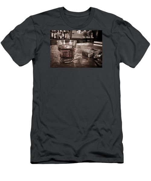 Men's T-Shirt (Slim Fit) featuring the photograph Bad Habits by Tim Stanley
