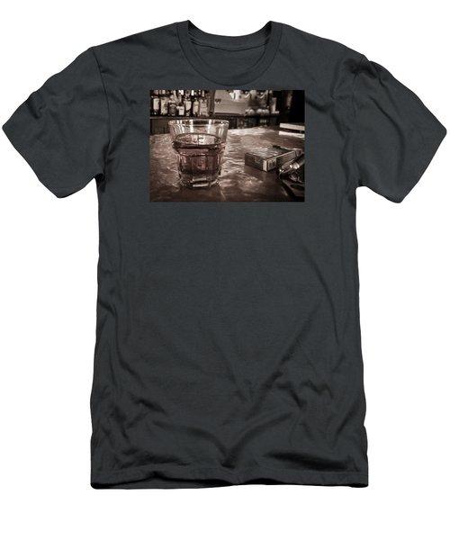 Bad Habits Men's T-Shirt (Slim Fit) by Tim Stanley