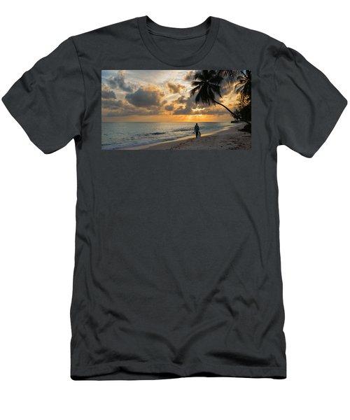 Bajan Fisherman Men's T-Shirt (Athletic Fit)