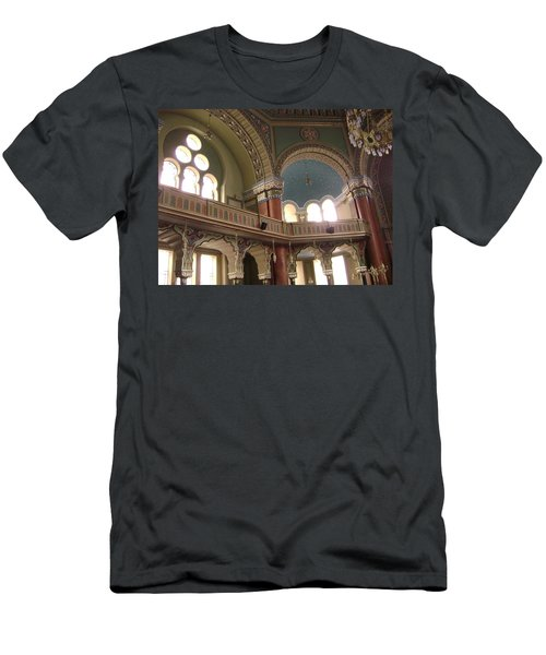 Balcony Of Sofia Synagogue Men's T-Shirt (Athletic Fit)