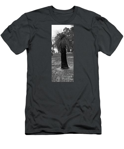Men's T-Shirt (Slim Fit) featuring the photograph Balga Tree by Cassandra Buckley