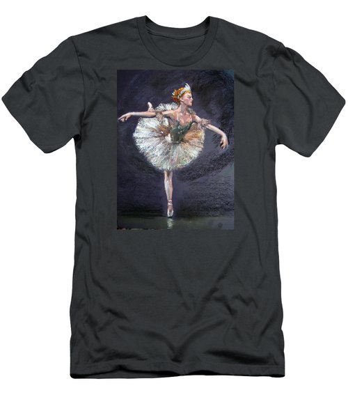 Ballet Men's T-Shirt (Slim Fit) by Jieming Wang