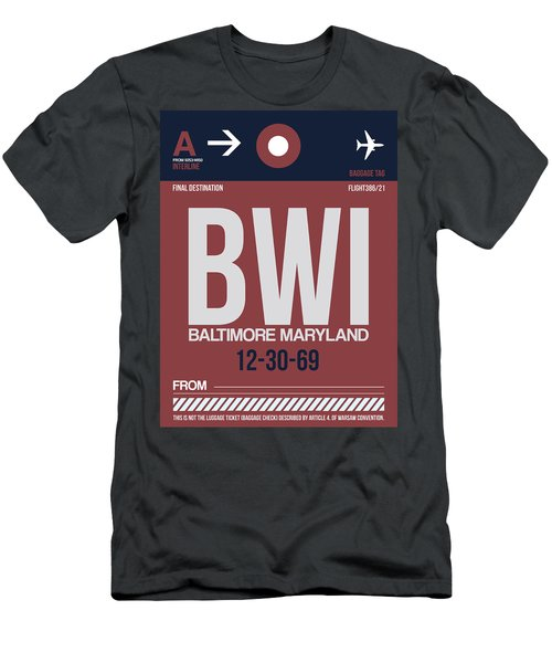 Baltimore Airport Poster 2 Men's T-Shirt (Athletic Fit)