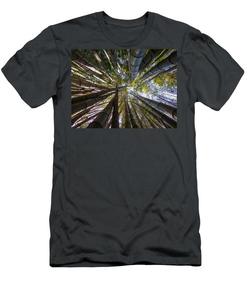 Bamboo Jungle Men's T-Shirt (Slim Fit) by Gandz Photography