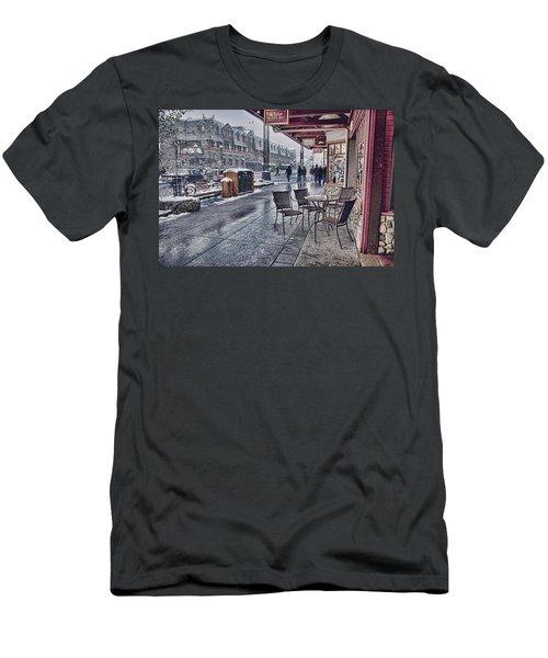 Banff Avenue Men's T-Shirt (Athletic Fit)