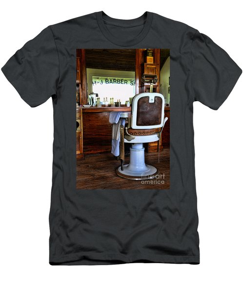 Barber - The Barber Shop Men's T-Shirt (Athletic Fit)