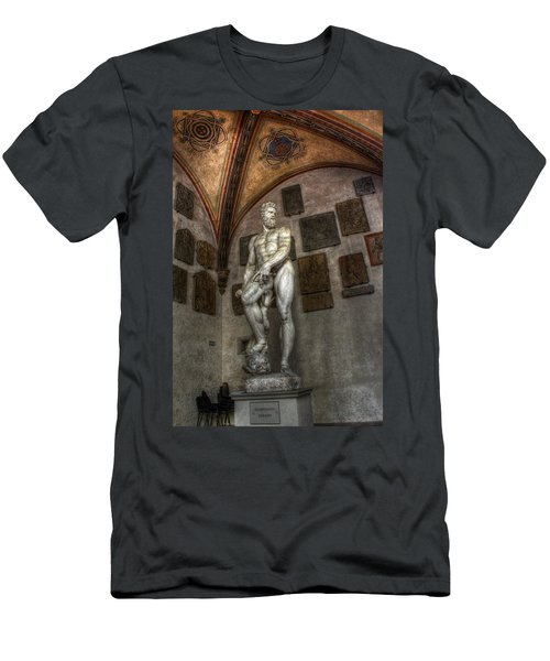 Giambologna's Oceano Men's T-Shirt (Athletic Fit)