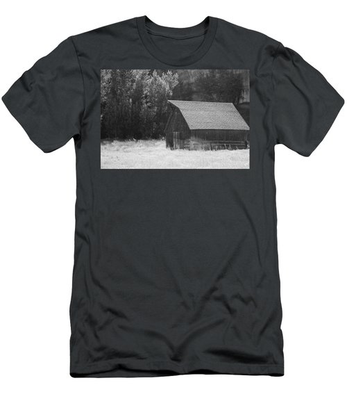 Barn Out West Men's T-Shirt (Athletic Fit)