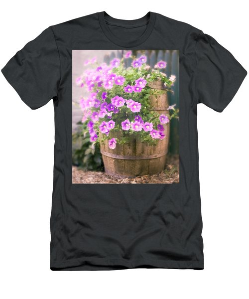 Barrel Of Flowers - Floral Arrangements Men's T-Shirt (Athletic Fit)