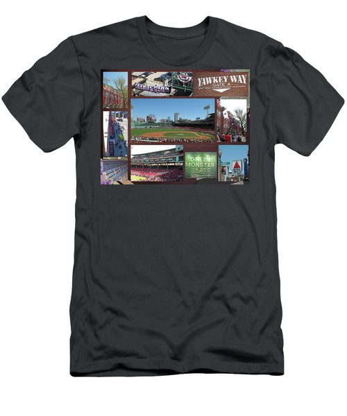 Baseball Collage Men's T-Shirt (Athletic Fit)