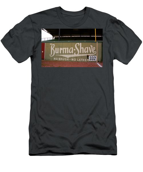 Baseball Field Burma Shave Sign Men's T-Shirt (Athletic Fit)