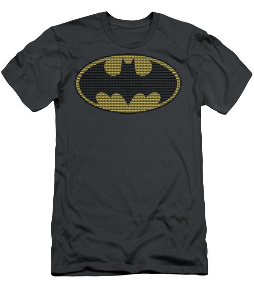 Batman - Little Logos Men's T-Shirt (Athletic Fit)