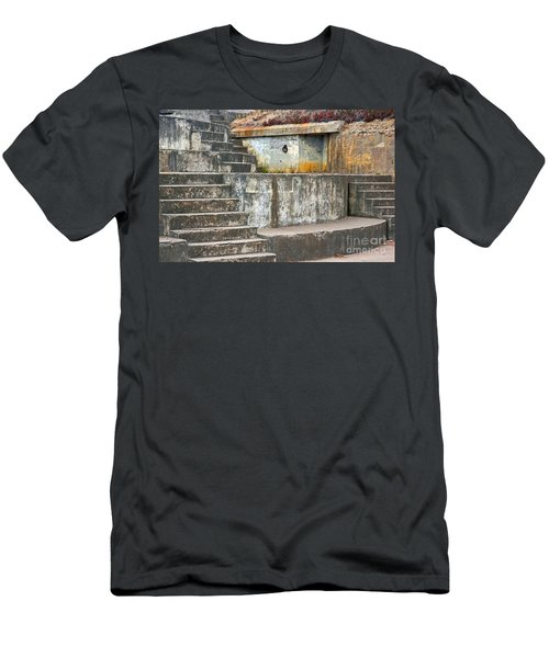 Men's T-Shirt (Slim Fit) featuring the photograph Battery Chamberlin by Kate Brown