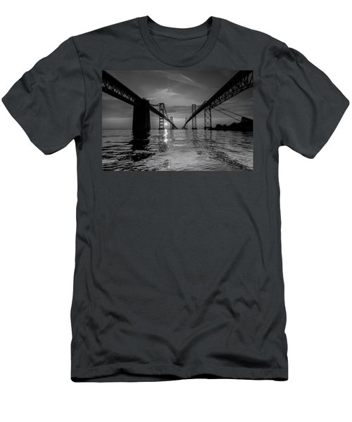Bay Bridge Strength Men's T-Shirt (Athletic Fit)