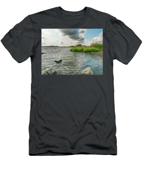Bayou Sale Fishing Hole Men's T-Shirt (Athletic Fit)