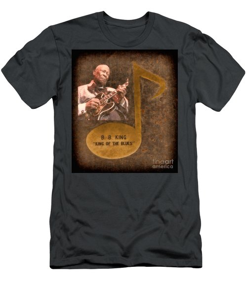 Bb King Note Men's T-Shirt (Athletic Fit)