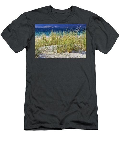 Beach Gras Men's T-Shirt (Athletic Fit)