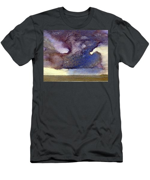 Beach Storm Cloud Men's T-Shirt (Athletic Fit)