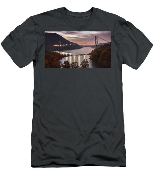 Bear Mountain In The Fall Men's T-Shirt (Athletic Fit)