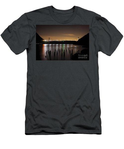 Bear Under The Sky Men's T-Shirt (Athletic Fit)