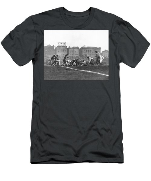 Bears Are 1933 Nfl Champions Men's T-Shirt (Slim Fit) by Underwood Archives