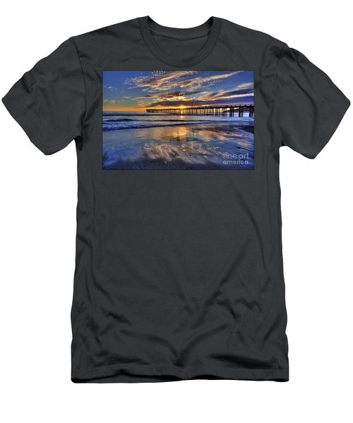 Beautiful Cayucos Men's T-Shirt (Athletic Fit)