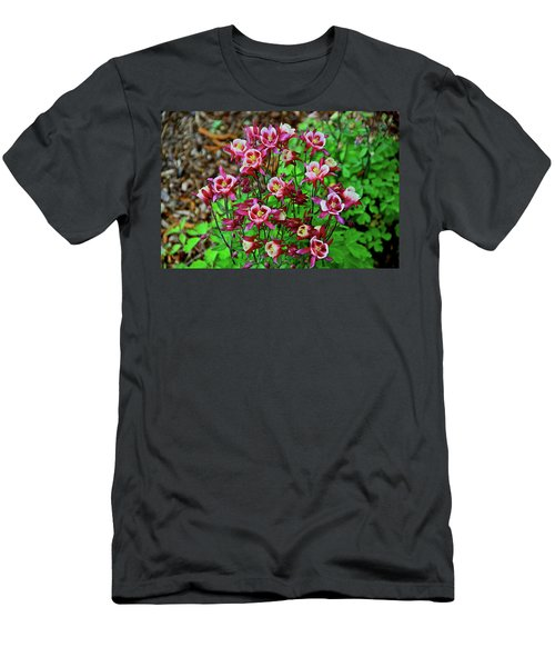 Beautiful Columbine   Men's T-Shirt (Athletic Fit)