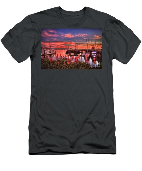 Beautiful Harbor Men's T-Shirt (Athletic Fit)