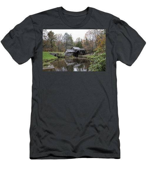 Beautiful Historical Mabry Mill Men's T-Shirt (Athletic Fit)