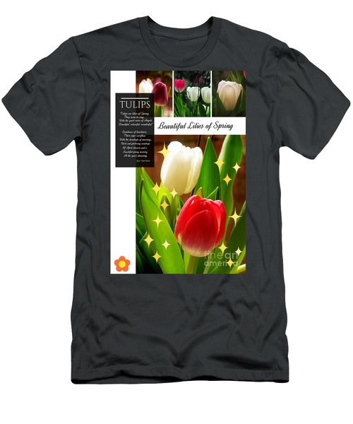 Beautiful Tulip Series 1 Men's T-Shirt (Athletic Fit)