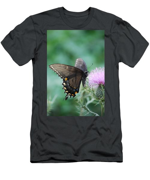 Beauty And Thistle Men's T-Shirt (Athletic Fit)