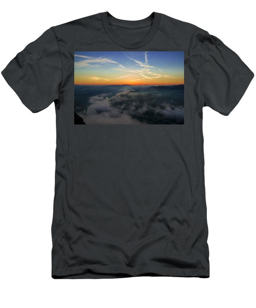 Before Sunrise On The Lilienstein Men's T-Shirt (Athletic Fit)