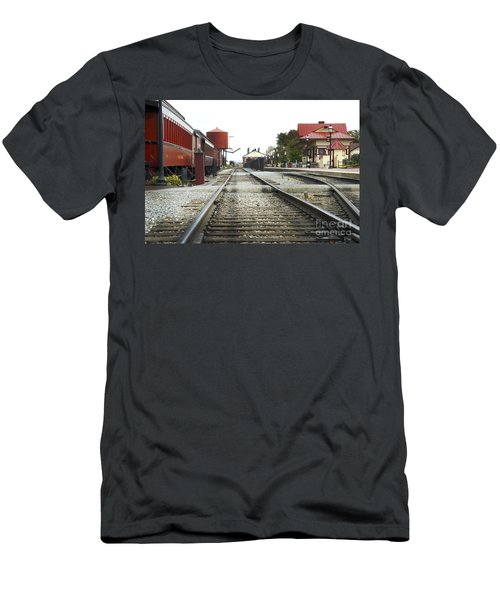 Before The First Passengers Men's T-Shirt (Athletic Fit)