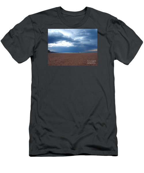 Men's T-Shirt (Slim Fit) featuring the photograph Before The Storm by Susan  Dimitrakopoulos