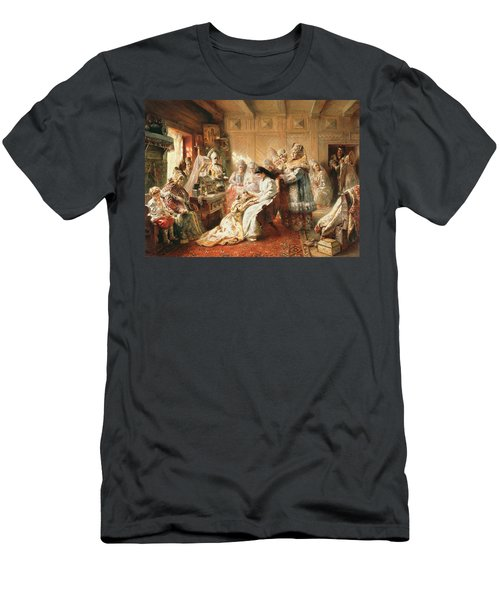 Before The Wedding, 1890 Oil On Canvas Men's T-Shirt (Athletic Fit)