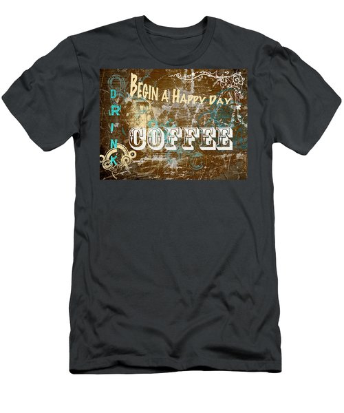 Begin A Happy Day Men's T-Shirt (Athletic Fit)