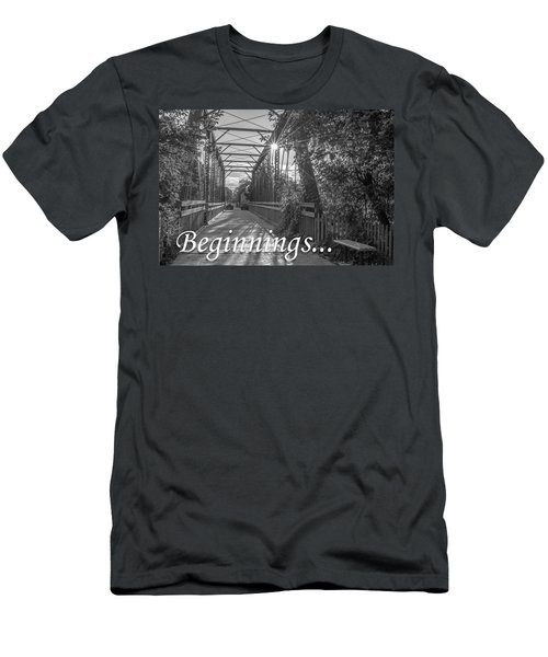 Beginnings... Men's T-Shirt (Athletic Fit)