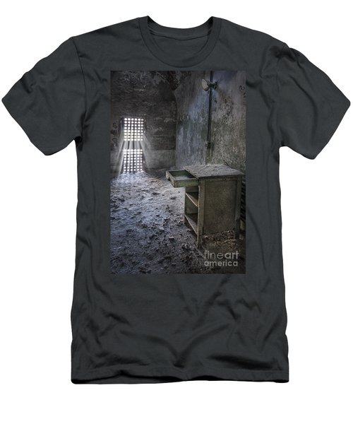 Behind The Bars Men's T-Shirt (Athletic Fit)