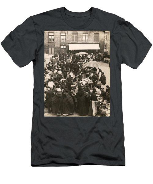 Belgian Fish Market Men's T-Shirt (Athletic Fit)