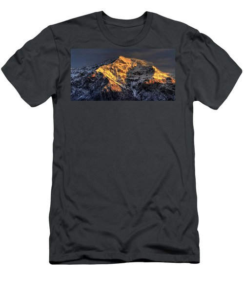 Ben Lomond Sunrise Men's T-Shirt (Athletic Fit)