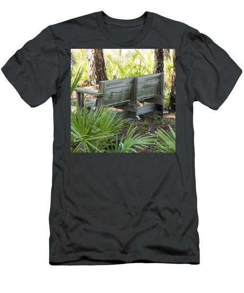 Bench In Nature Men's T-Shirt (Athletic Fit)