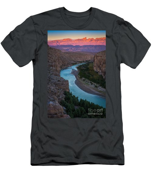 Bend In The Rio Grande Men's T-Shirt (Athletic Fit)